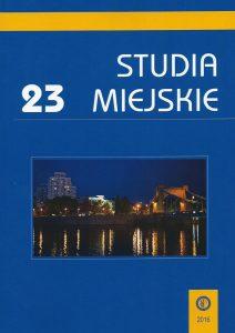 Studia Miejskie okładka nr 23